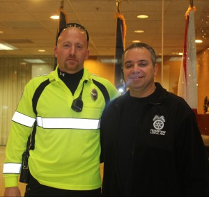 Tommy Morreale with IDOT Steward Dan Giglio