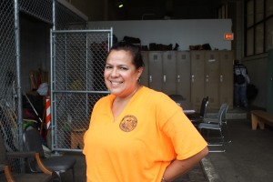 Lillian Garcia, MTD at the South Iron yard, helped save another woman's life a few months ago.