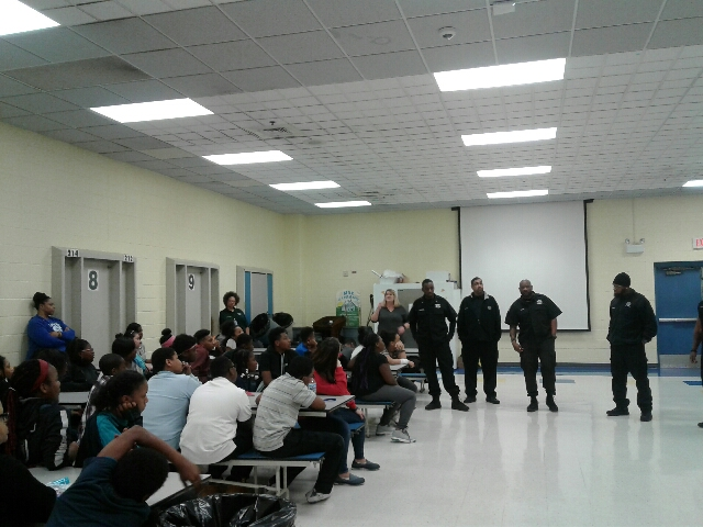 Local 700 Jtdc Members Speak To Youth About High Risk Behavior The