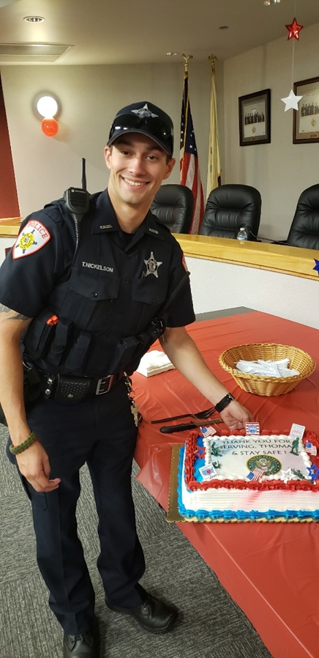 Wood Dale Officer Thomas Nickelson Joins Illinois National